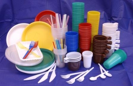 Пластиковая посуда ПВХ